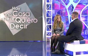 Alguien quiere decirle algo especial a María José Campanario en Tele5