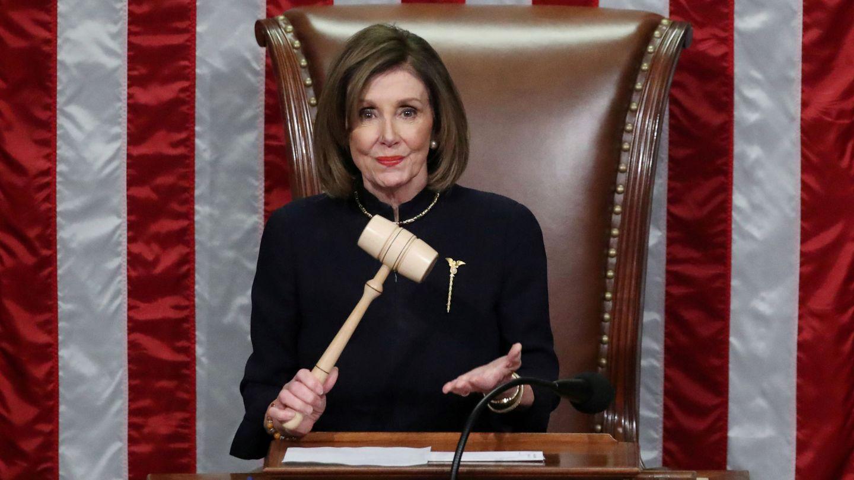 Nancy Pelosi, durante la sesión. (Reuters)