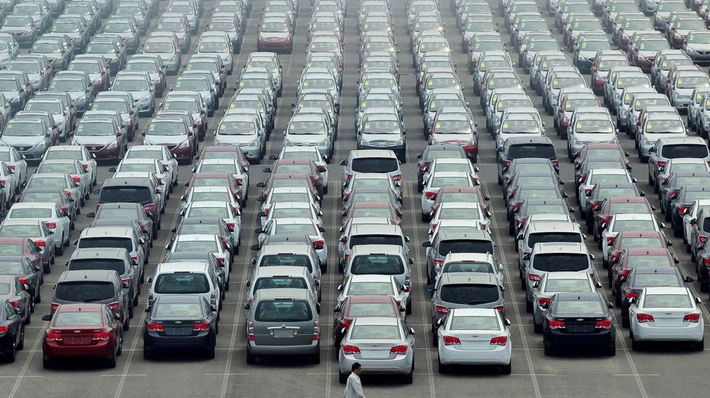 Foto: Imagen de archivo de un parking de coches (Reuters)