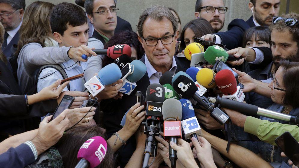 Foto: El expresidente catalán Artur Mas. (EFE)