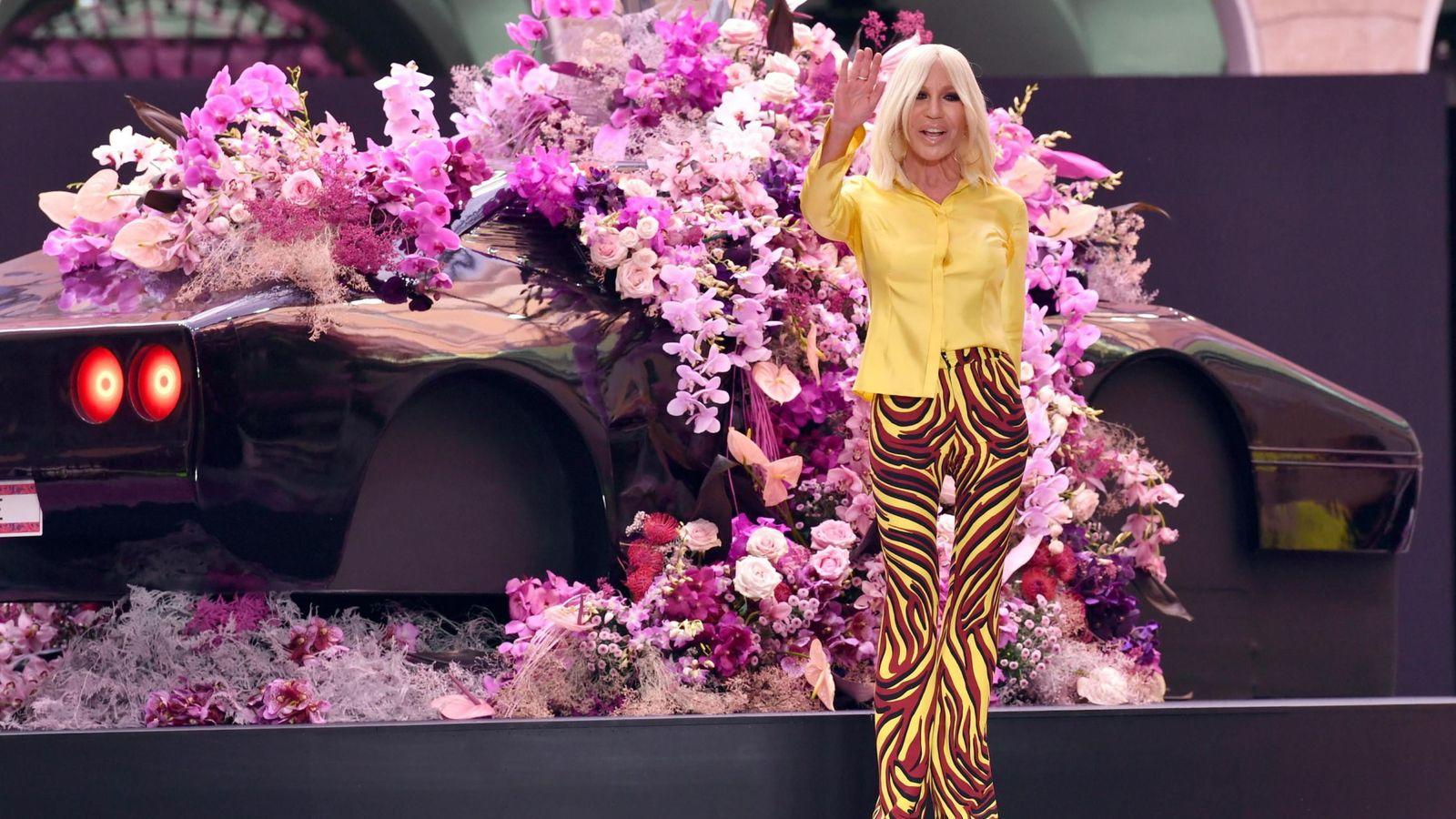 Foto: Donatella Versace. (Efe)