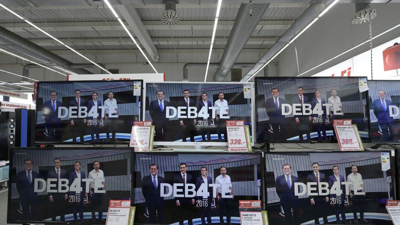 ¡Quitad vuestras sucias manos de la televisión!