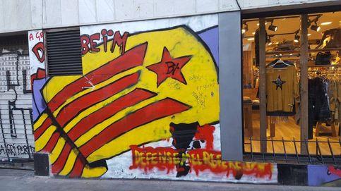 El barrio más 'indepe' de Barcelona: Si nos traiciona el Govern, desobediencia