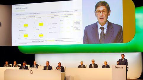El FROB sondea a fondos de inversión para la venta inminente de un 15% de Bankia