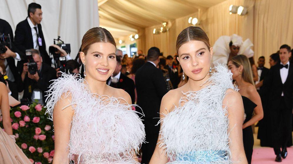 Foto: Victoria y Cristina Iglesias, en la gala del MET de 2019. (Getty)