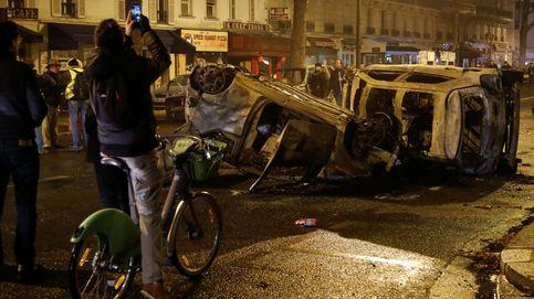 Las imágenes de los disturbios de los chalecos amarillos en París