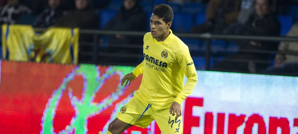 Foto: Nahuel, durante un partido con el Villarreal (Cordon Press)