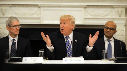 Caras largas y desplantes: así fue la reunión de Trump con la élite tecnológica