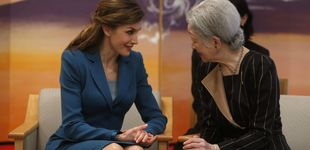 Post de Varela y el sastre 'clonado': la despedida de Doña Letizia de Japón