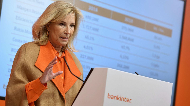 La consejera delegada de Bankinter, María Dolores Dancausa. (EFE)