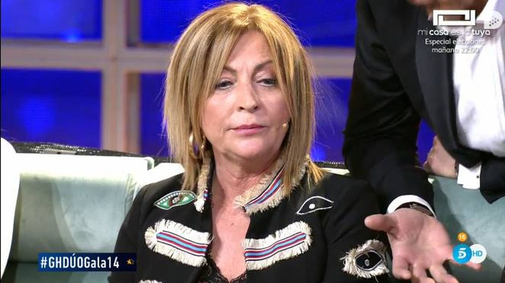 Foto: Paz Guerra abandona el plató de 'GH Dúo'. (Telecinco)
