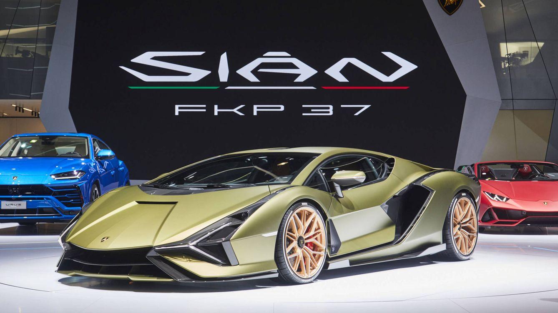El exclusivo coche híbrido de Lamborghini, el novedoso Sian FKP 37