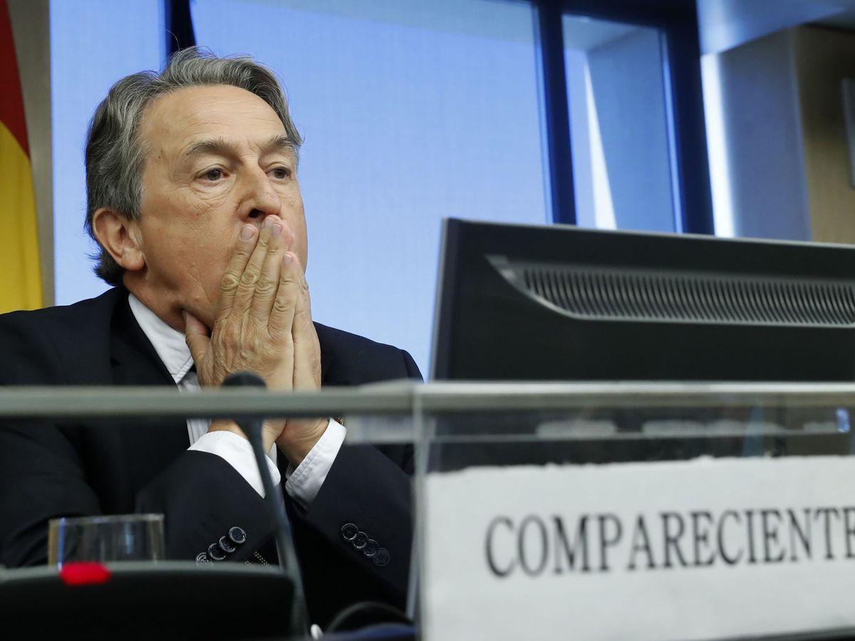 Foto: El eurodiputado de Vox, Hermann Tertsch. (EFE)