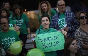 La 'marea verde' marcha en 70 ciudades contra la ley Wert