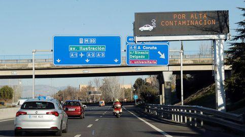 Los límites de velocidad continuarán este viernes en Madrid por la contaminación