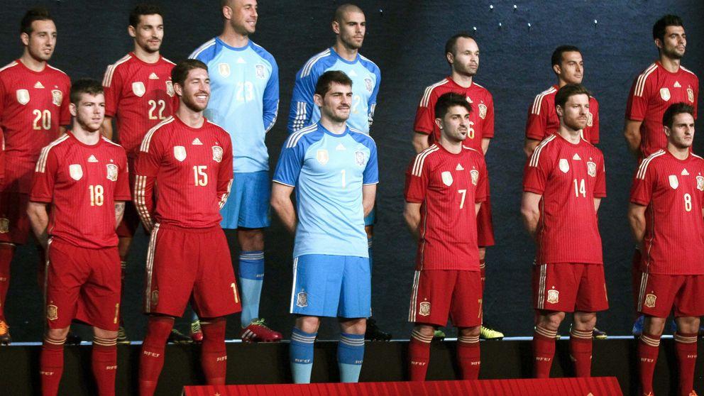 España vestirá una sorprendente equipación roja en el Mundial 2014
