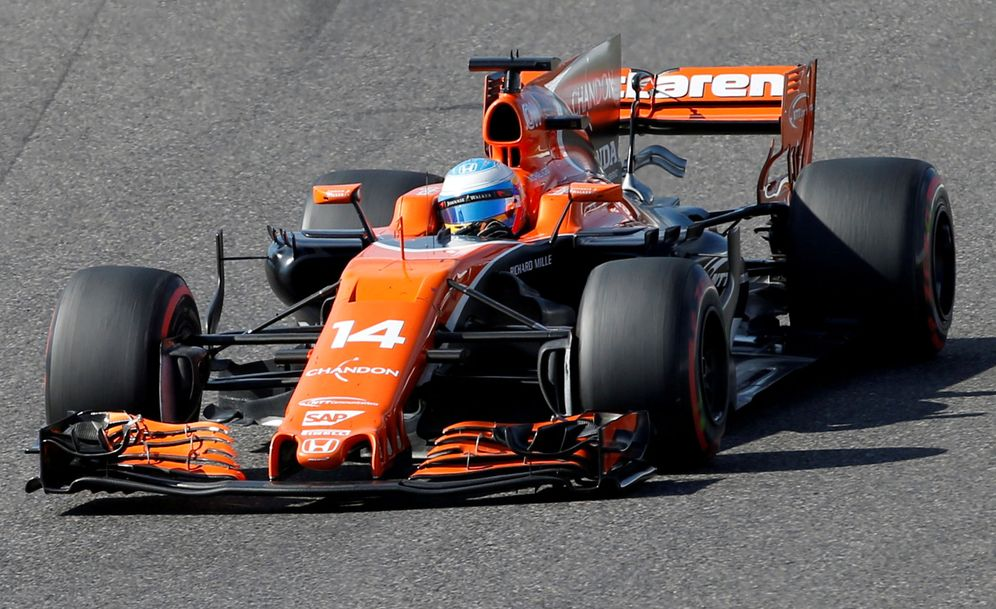 Foto: En la imagen, Fernando Alonso en su McLaren. (Reuters)