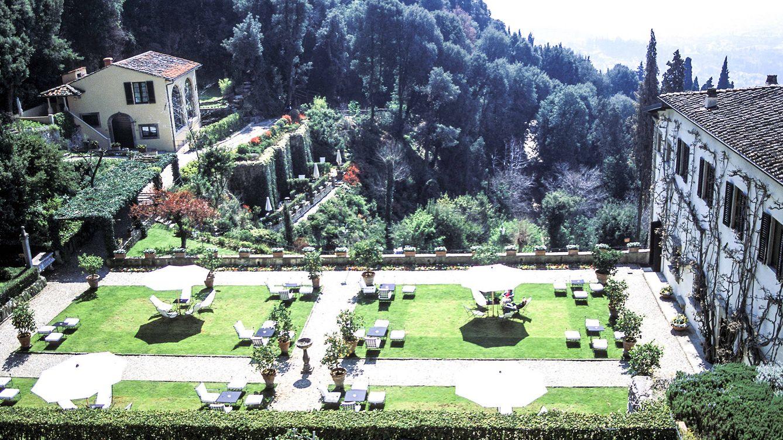 Foto: La gran terraza del Observatorio invita a dejar pasar las horas mientras cae la tarde sobre Florencia.