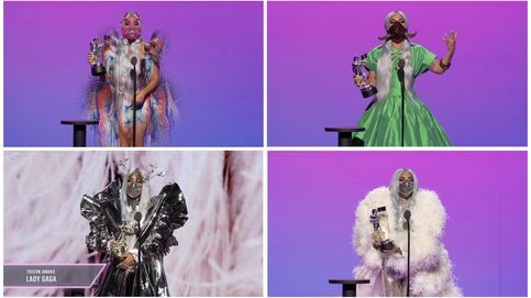 MTV VMAs 2020: estos son los ganadores, aunque las mascarillas triunfaron más