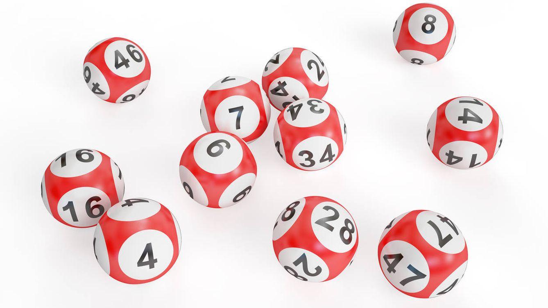 Foto: Bolas de lotería de Navidad. (iStock)