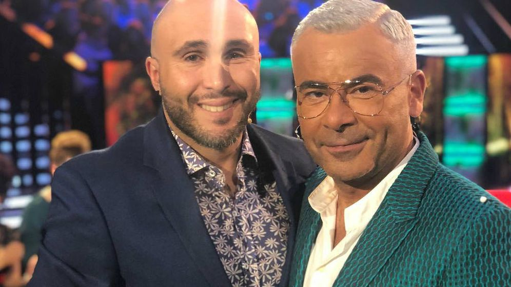 Foto: Kiko Rivera, junto a Jorge Javier Vázquez. (RRSS)