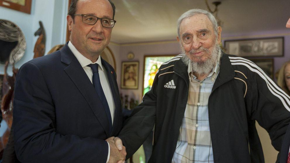 ¿Todo por una foto? Hollande ante Castro: de la denuncia a la fascinación