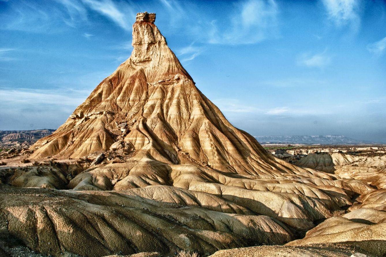 Foto: Castildetierra, en las Bardenas Reales, el paisaje que le volvió loco al quijote de Terry Gilliam (Foto: Flickr - Álvaro Hermida)