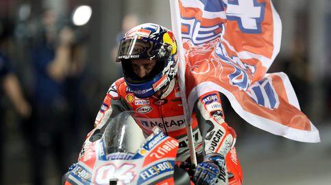 Dovizioso gana a Márquez en el Gran Premio de Qatar con un final de infarto