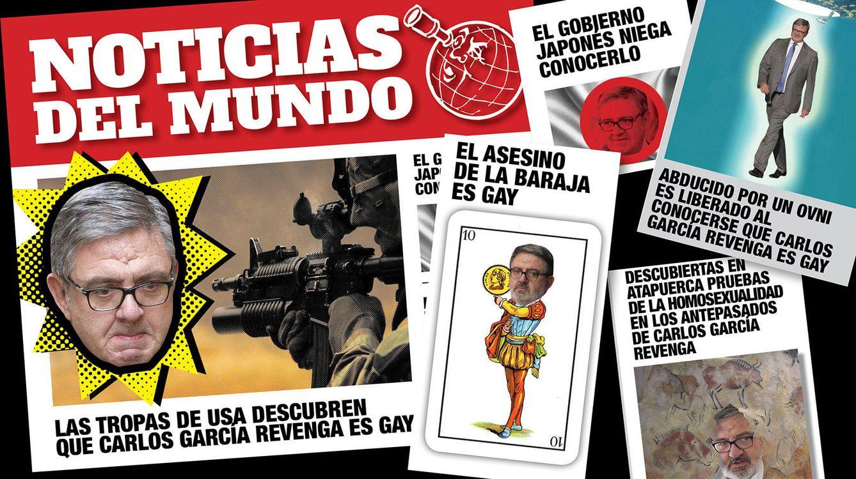 Foto: García Revenga, nueva víctima del ingenio humorístico de Urdangarin