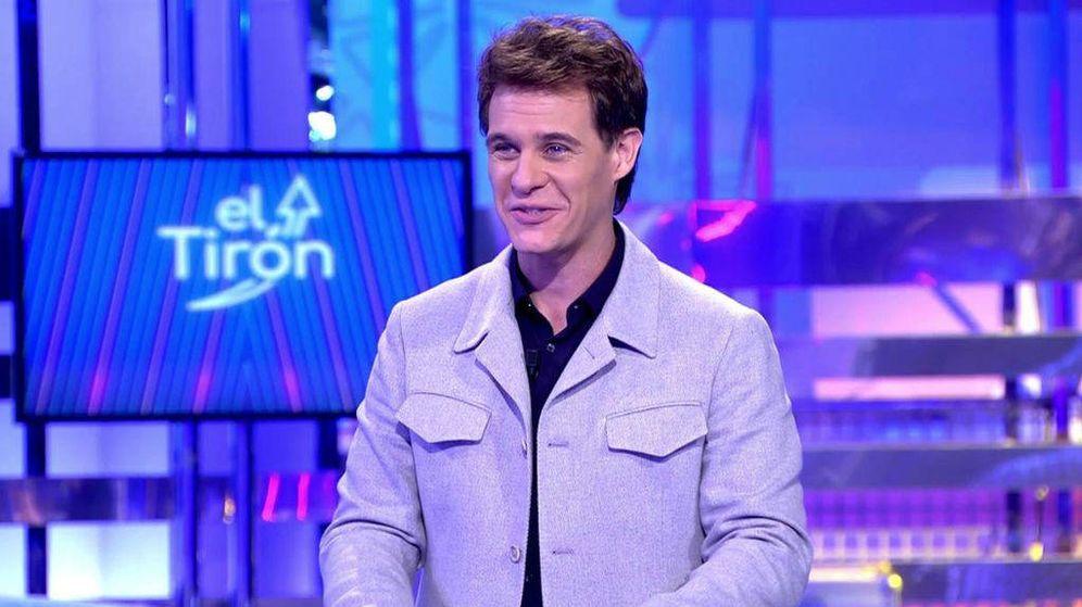 Foto: Christian Gálvez, presentador de 'El tirón'. (Mediaset)