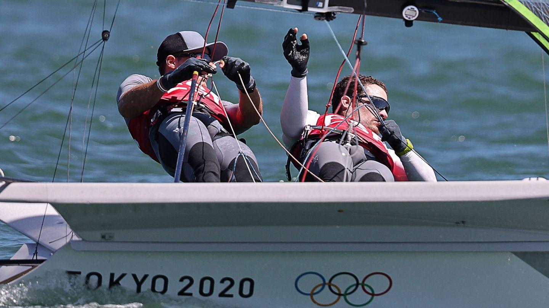 Diego Botín e Iago López se quedan sin medalla. (Reuters)