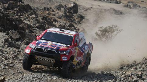 Sainz pincha y queda a 36 segundos del líder en la primera etapa del Dakar