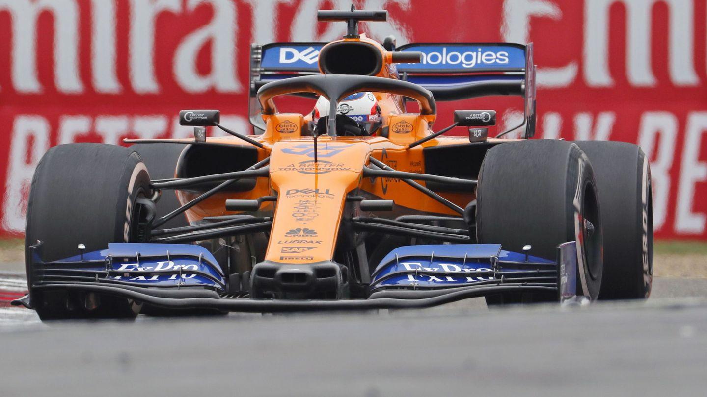 Carlos Sainz durante el Gran Premio de China. (EFE)