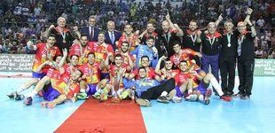Post de La selección española junior de balonmano, campeona del mundo