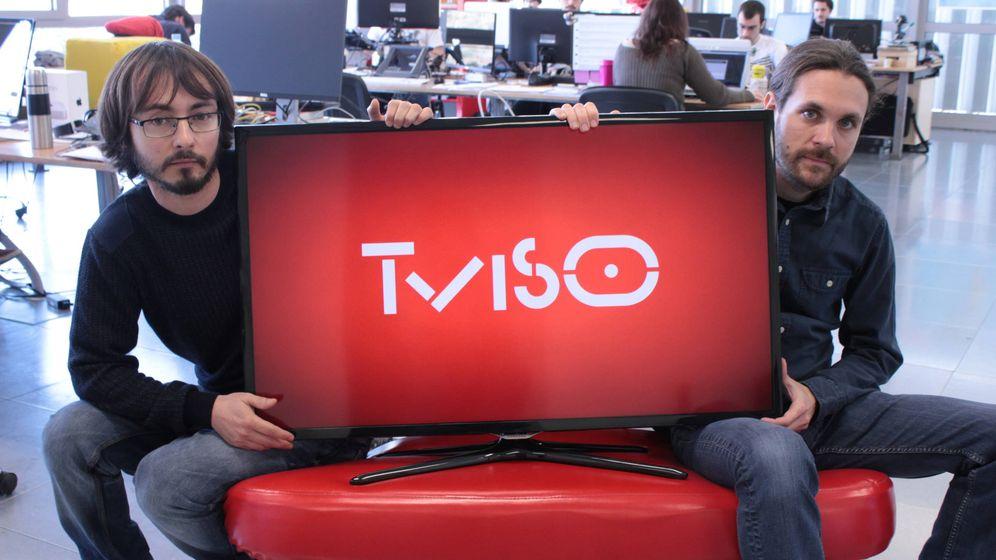 Foto: Oriol Solé (izquierda) junto a Andreu Caritg, ambos cofundadores de Tviso