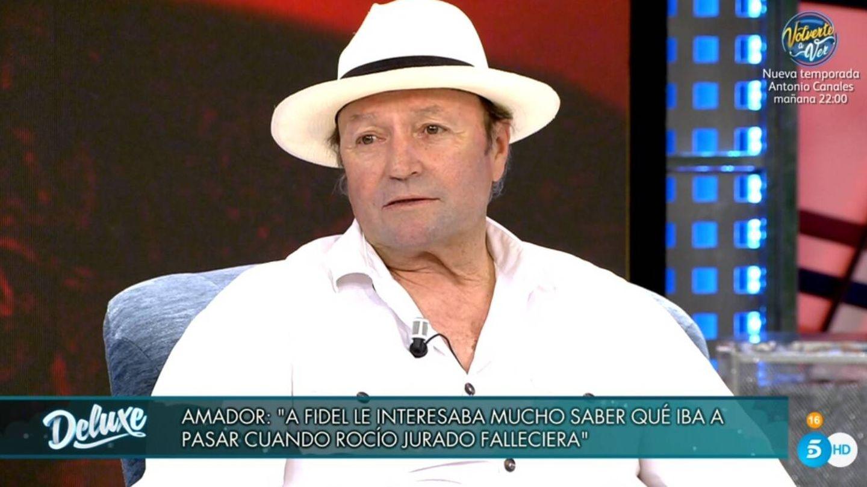 Mohedano, en 'Viernes Deluxe'. (Telecinco).