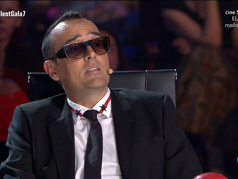 Foto: Risto Mejide, en 'Got talent España'. (Telecinco)