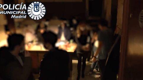 Una denuncia por abuso sexual y 6 detenidos en una fiesta ilegal en Madrid de 50 personas