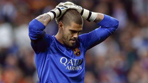 Valdés rompe con el Besiktas con el billete de avión para viajar en la mano