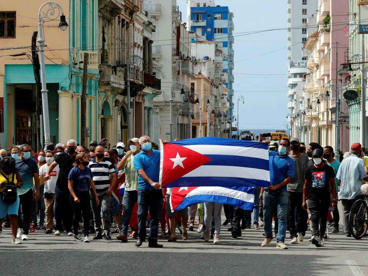 Por qué se están produciendo las protestas masivas en Cuba?