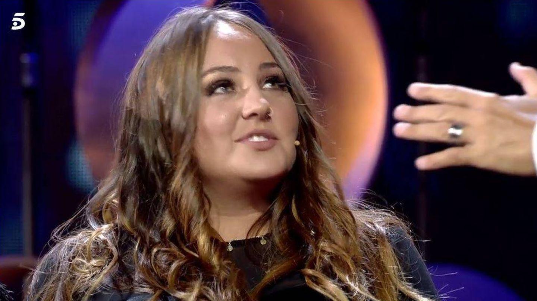 Rocío Flores, en el plató de 'Gran Hermano VIP'.