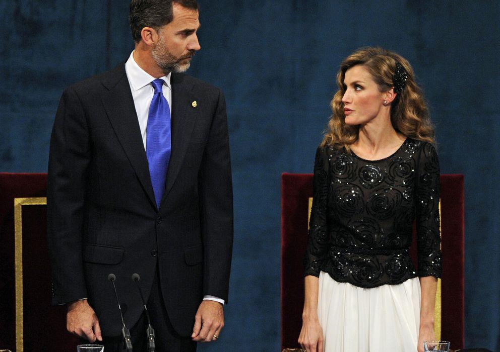Foto: Don Felipe y Doña Letizia, en los Premios Príncipe de Asturias del pasado año. (Reuters)