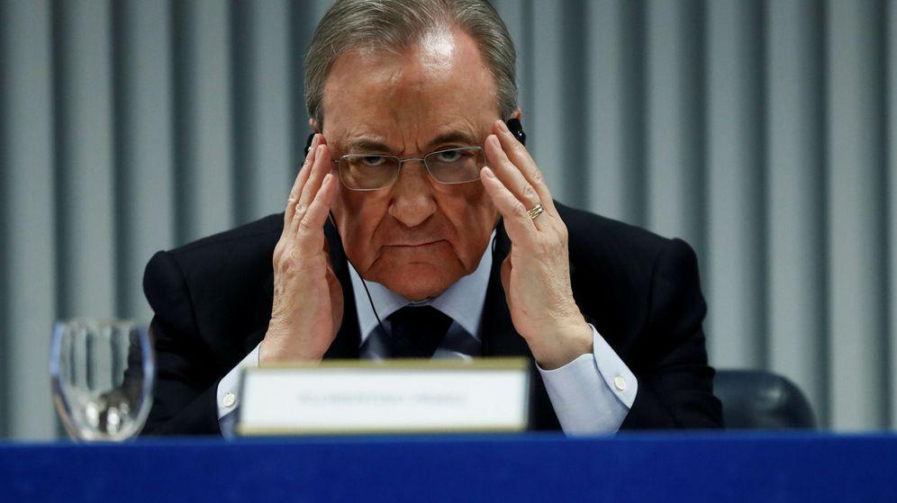 Foto: El presidente de ACS, Florentino Pérez. (Reuters)