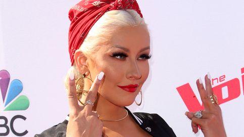 Christina Aguilera 'resucita' a Whitney Houston en el escenario