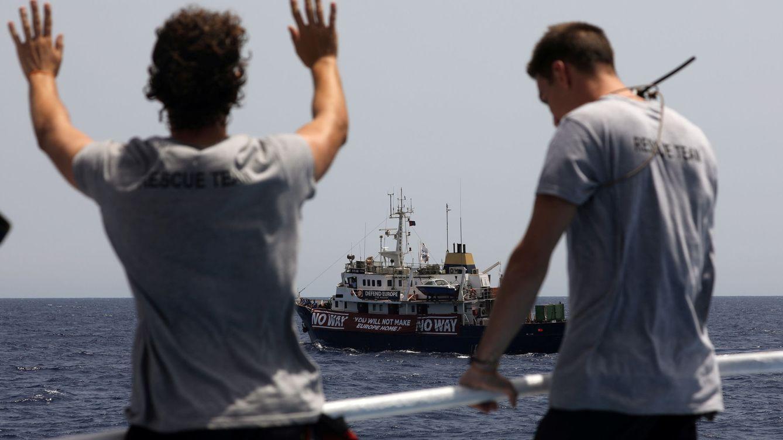 Una ONG española denuncia que su barco ha sido retenido por guardacostas libios