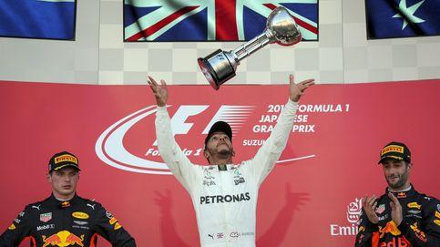 Otro fiasco de Ferrari deja a Hamilton con el título en la mano; Alonso roza los puntos