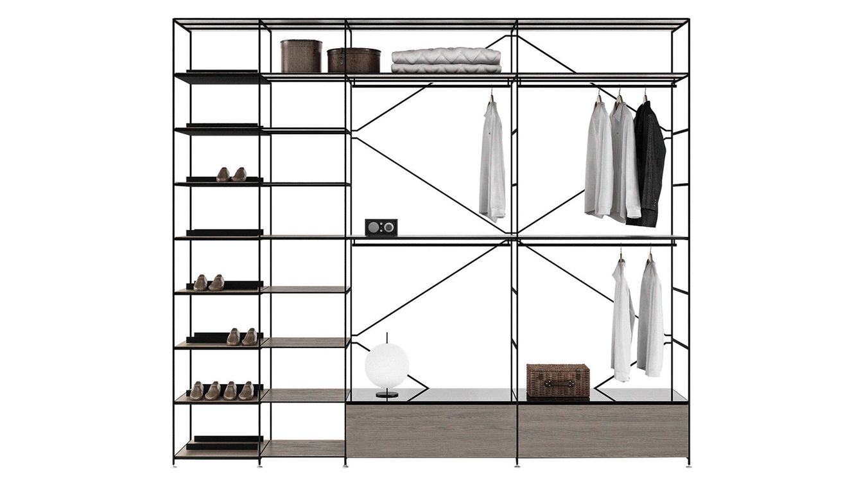 Foto: Una de las soluciones básicas de almacenaje diseñadas por el estudio danés MA / U.