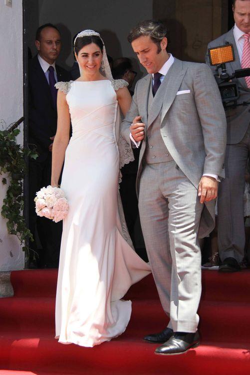 El matrimonio el día de su boda en 2011 en Córdoba (Gtres)