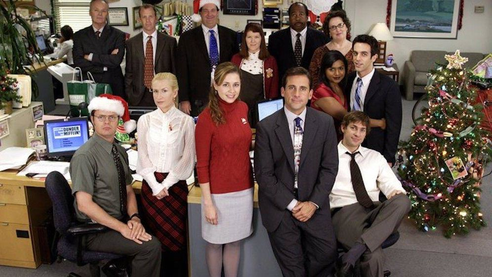 Foto: Foto de la presentación de la serie 'The Office'.