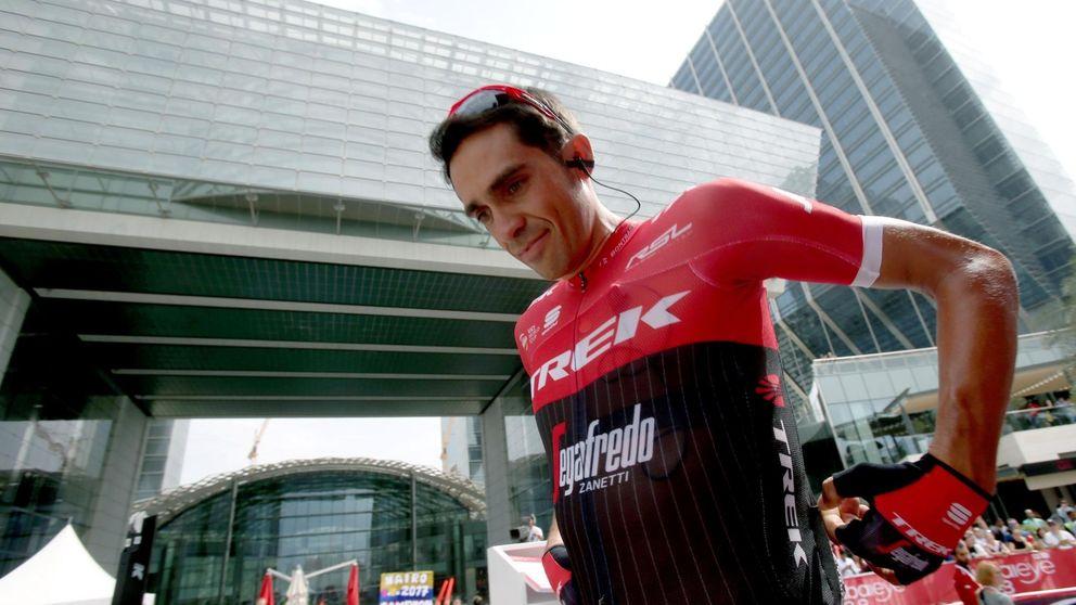 Alberto Contador y Nairo Quintana, listos para un duelo al sol en Abu Dabi